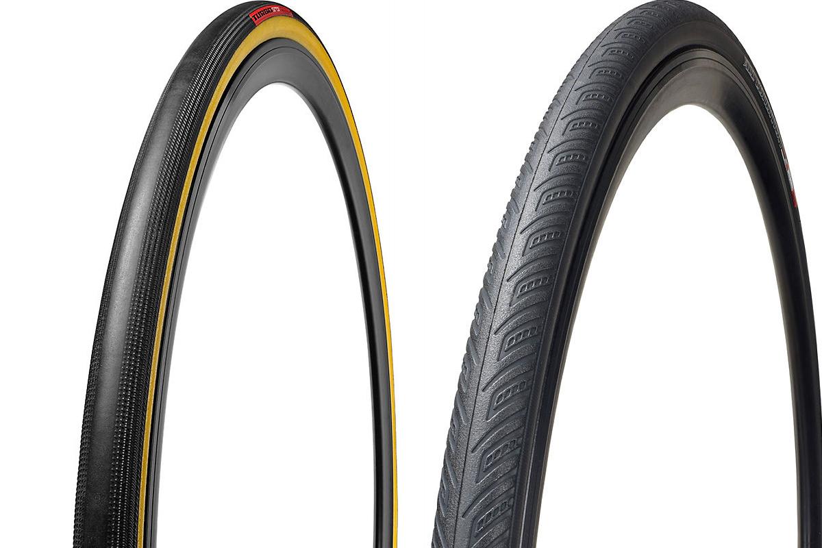 Neumáticos de carretera Specialized Turbo Cotton y Armadilllo