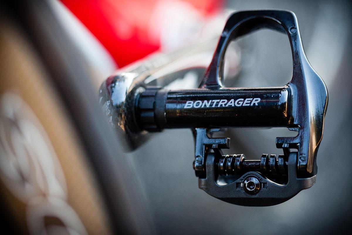 Bontrager Comp, pedales de carretera
