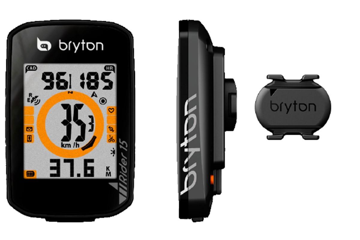 Bryton Rider 15 con sensor de cadencia