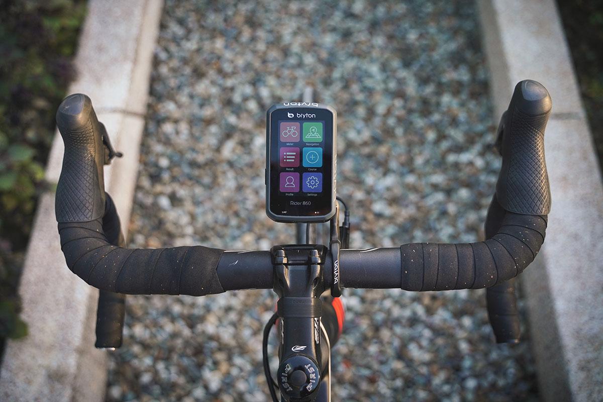 Nuevo Ciclocomputador GPS Bryton Rider 860
