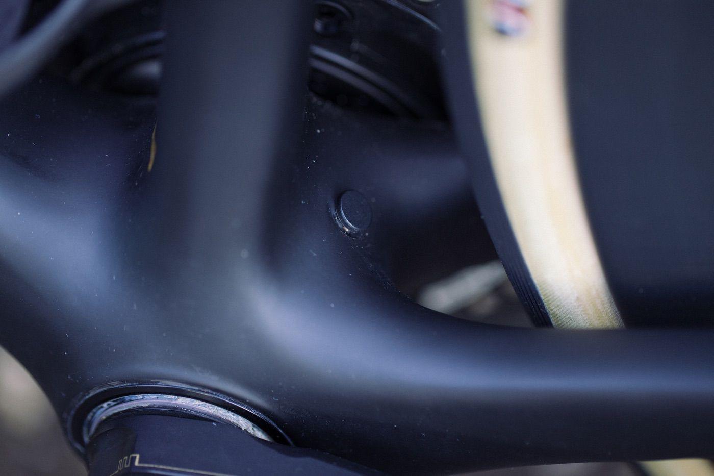 Pedalier de la Cannondale SuperSix Evo 2020