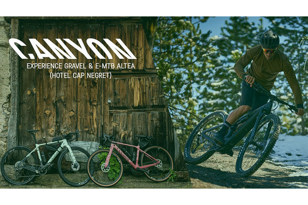 Nuevo evento de test de Canyon: Hotel Cap Negret, Altea, del 18 al 20 de junio