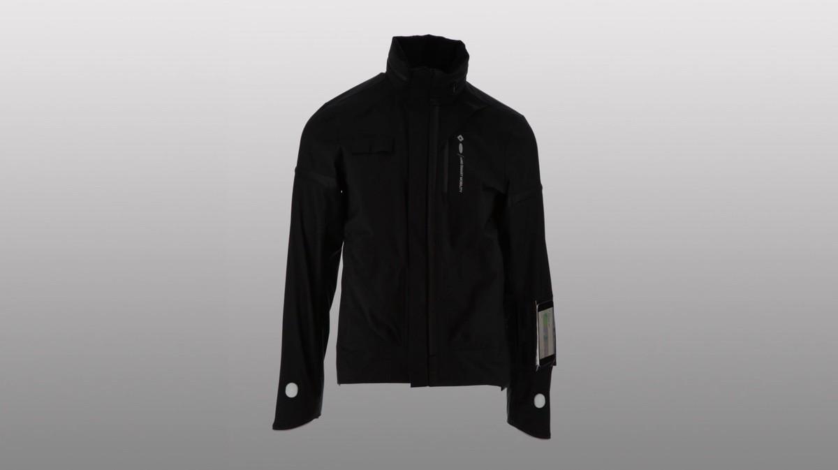 Prototipo de chaqueta Ford para ciclismo urbano