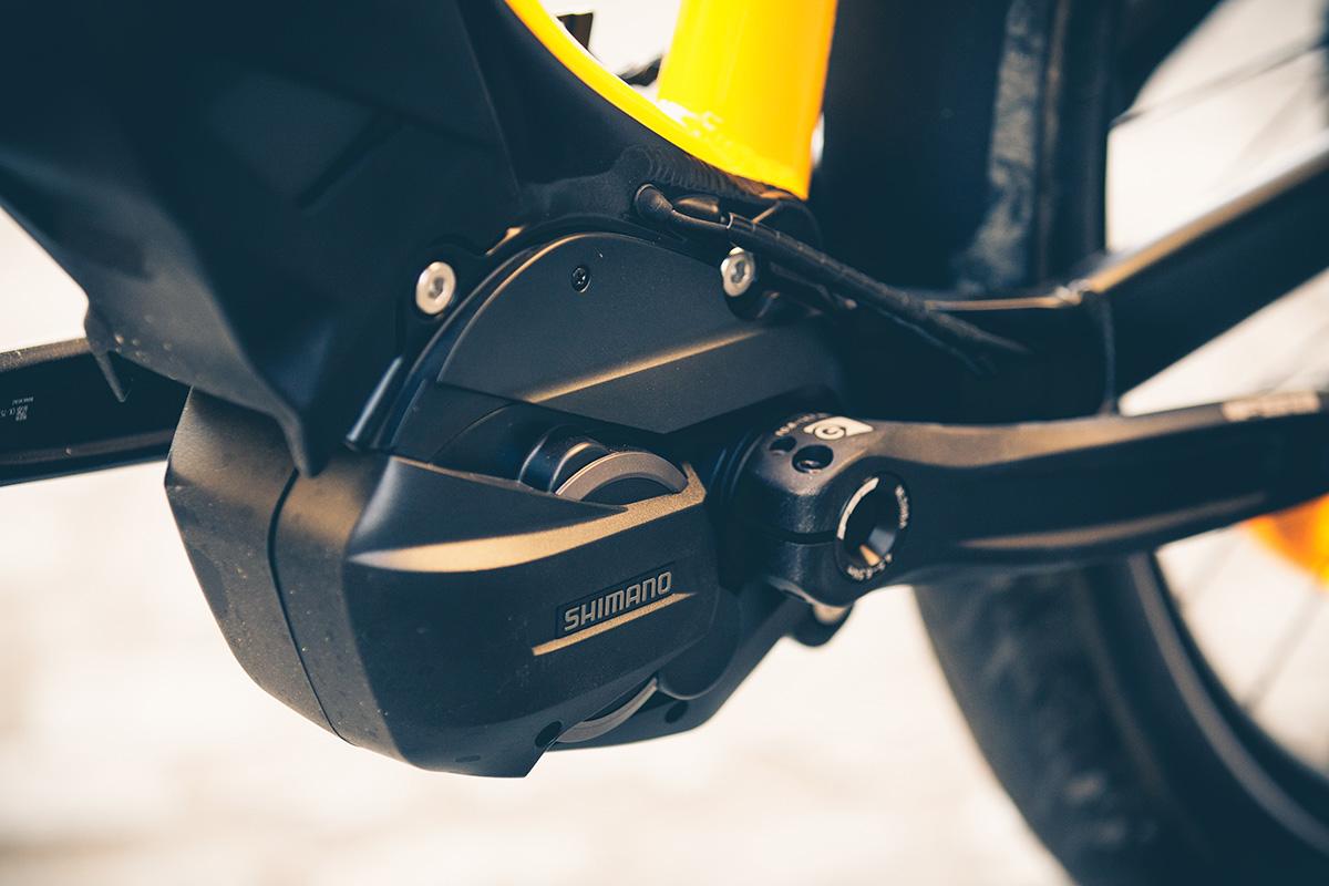 Shimano STEPS E7000 en la Ducati e-Scrambler