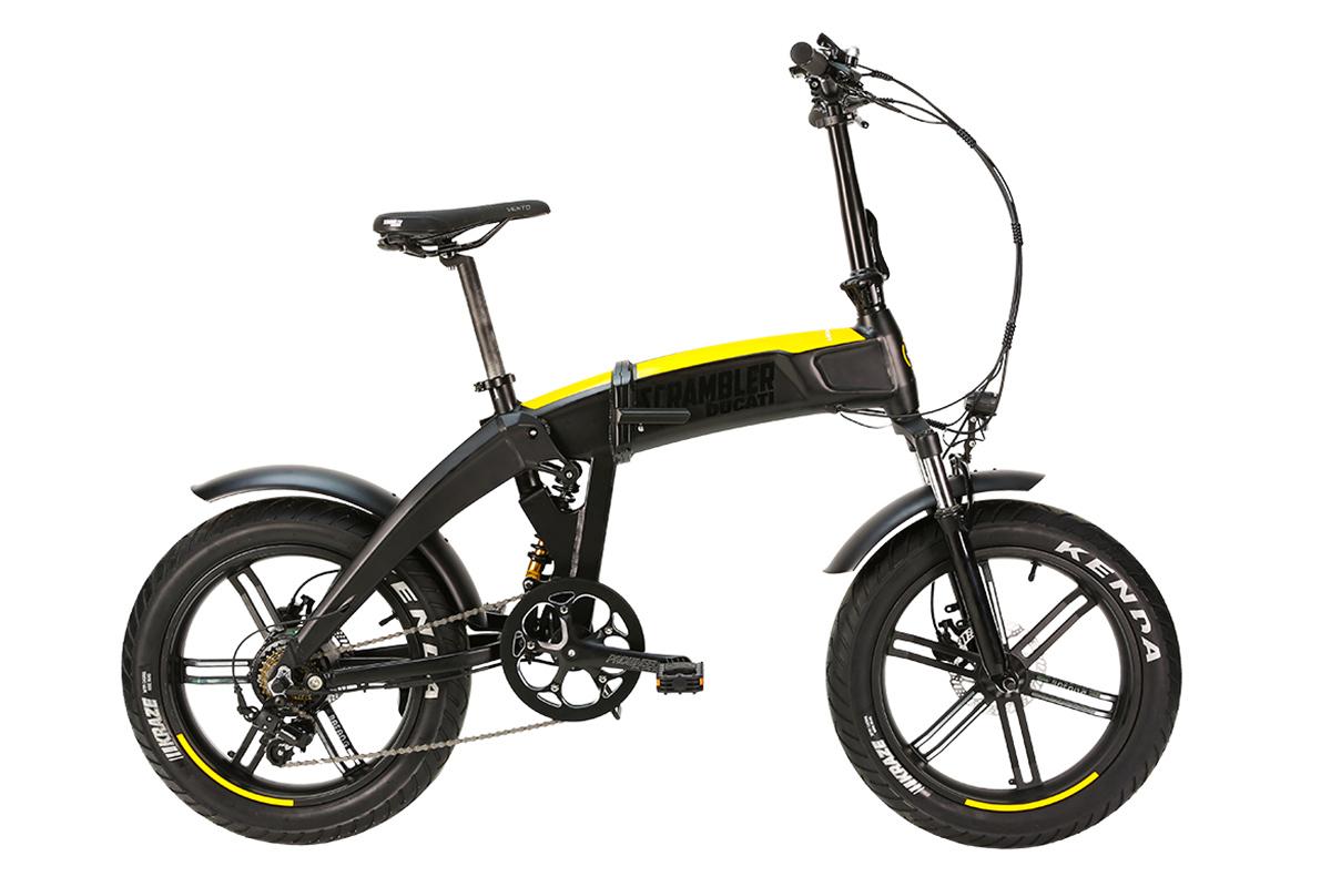 Ducati presenta su línea de e-bikes plegables