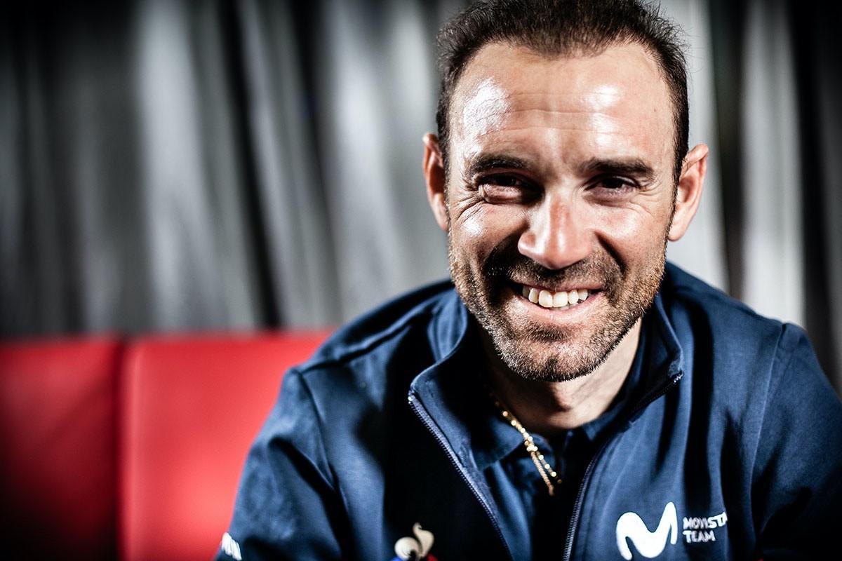 Entrevista Alejandro Valverde (Campeón del Mundo y corredor de Movistar Team)
