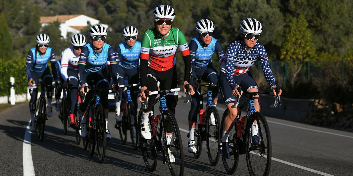 Equipos totales: estructuras masculinas y femeninas en el ciclismo profesional