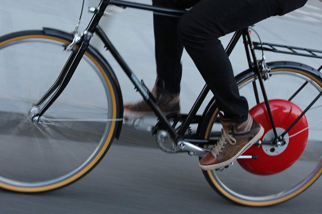 Copenhagen Wheel, convierte tu bici en bici eléctrica cambiando una rueda