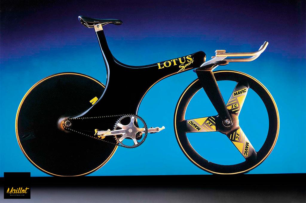 Lotus 108 de Chris Boardman diseñada por Mike Burrows