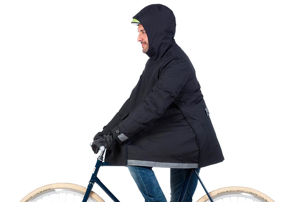 Tucano Urbano lo tiene claro: las bicis también son para cuando llueve