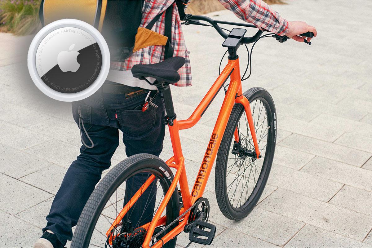 Usa los Airtags de Apple para localizar tu bici si te la roban