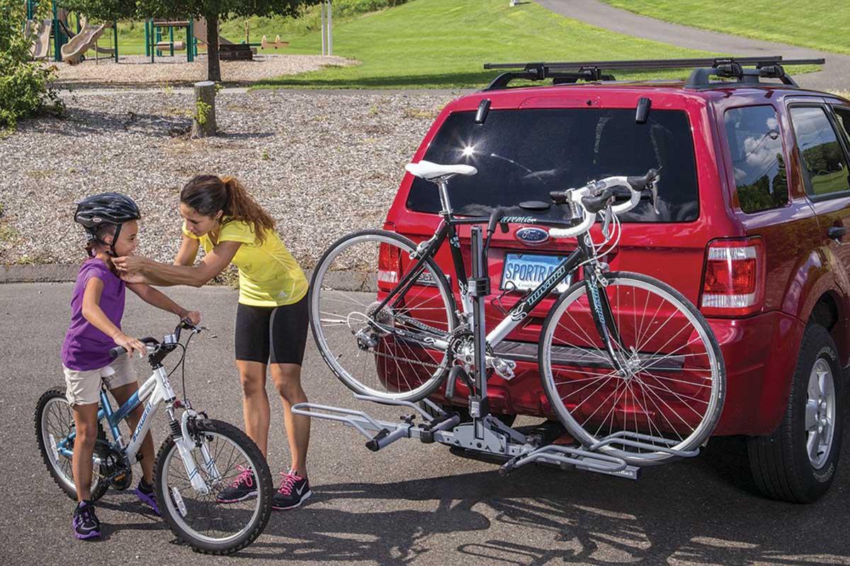Evita las multas. Cómo hay que llevar la bici en el coche correctamente