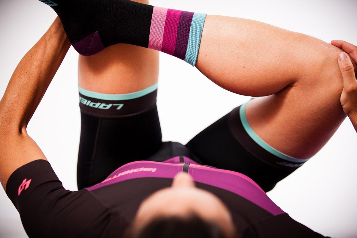 Cómo y qué músculos estirar para el ciclismo