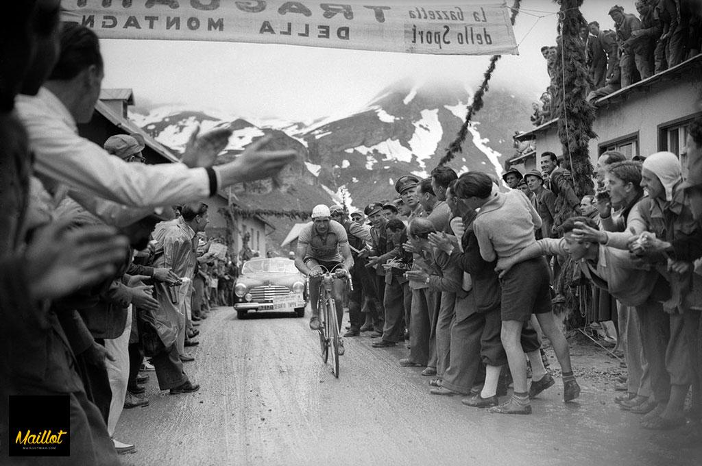 Gino Bartali en el Giro
