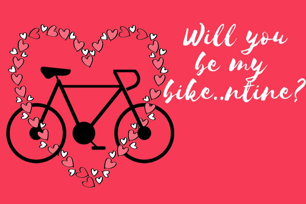 Cinco maneras de celebrar San Valentín... con tu bicicleta