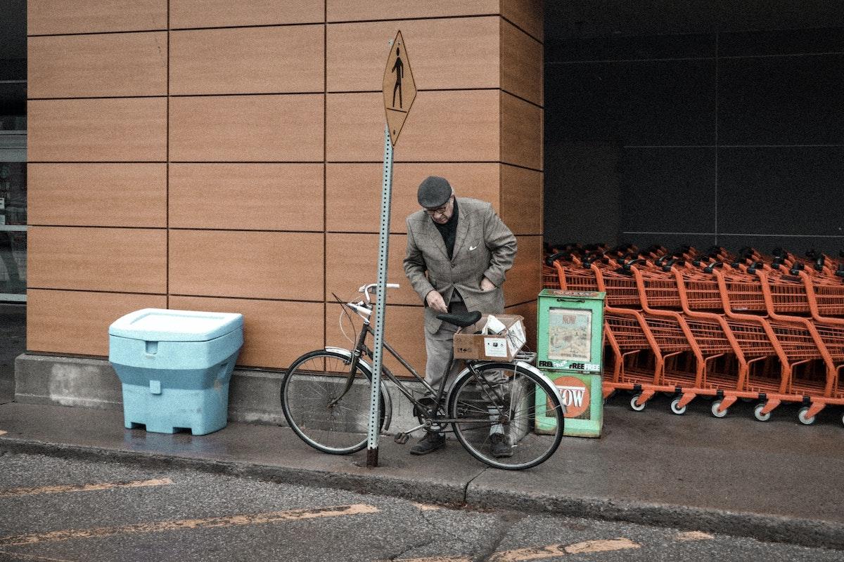 Cómo hacer la compra en bicicleta
