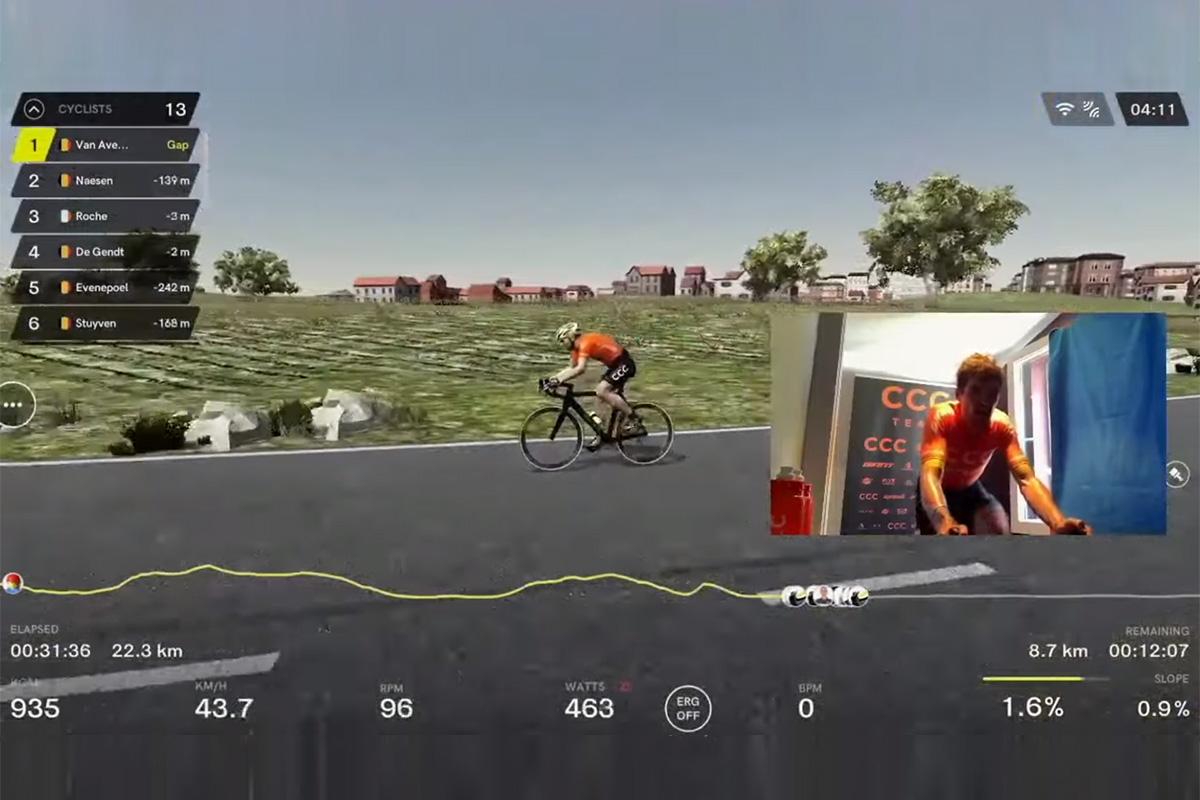 De Ronde 2020 - Lockdown edition: Los e-Sports han llegado al ciclismo