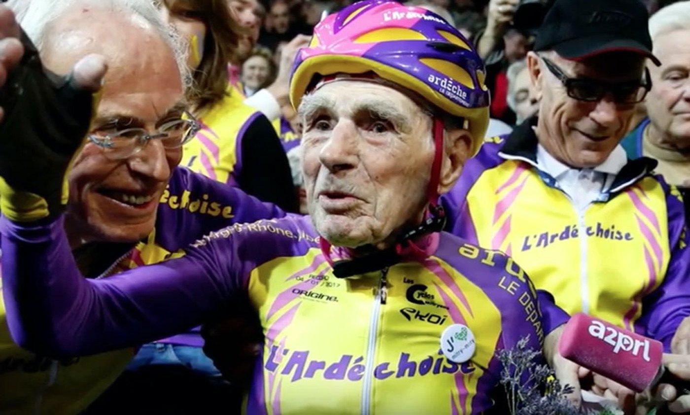 Robert Marchand: el récord de la hora a los 105 años