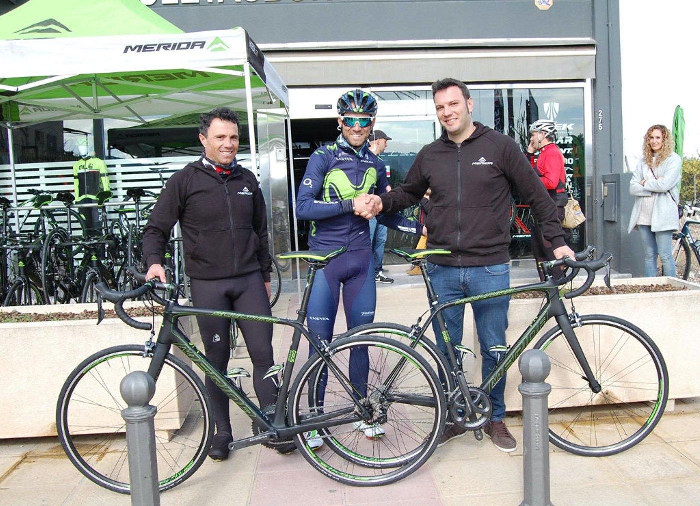Merida Scultura 5000, la bici del Valverde Team