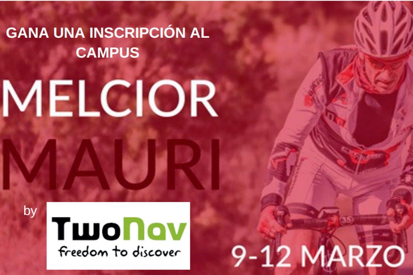 Cómo conseguir una inscripción al Campus Melchor Mauri y probar el nuevo navegador TwoNav Velo