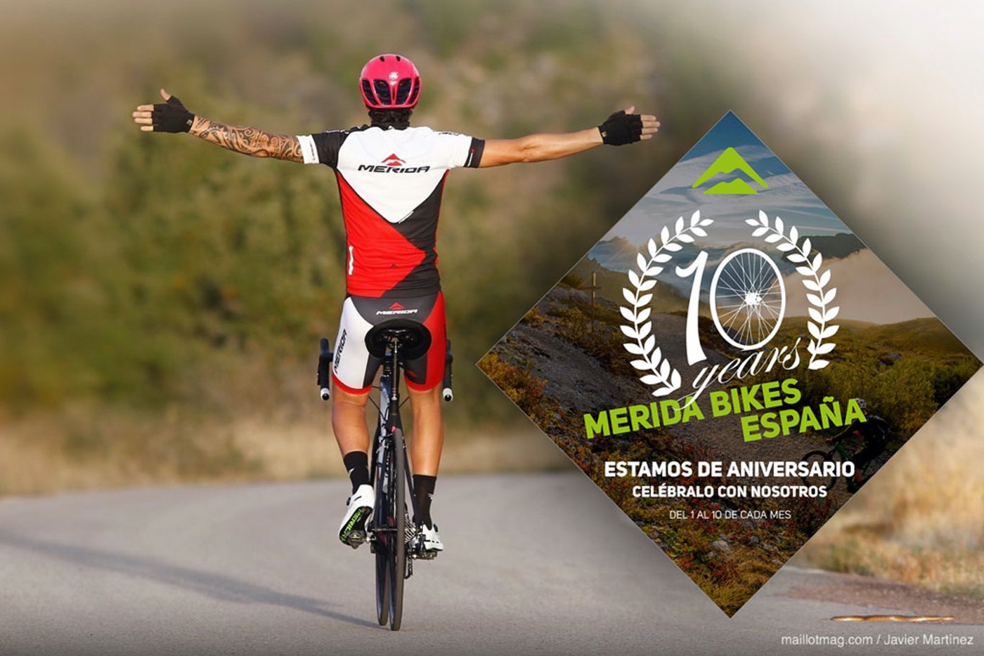 Merida Bikes SWE celebra su 10º aniversario