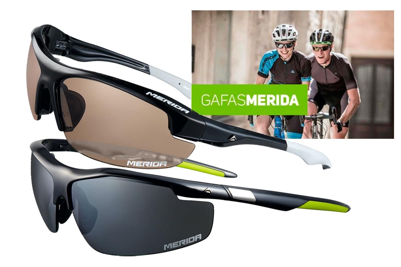 Gafas Mérida, la nueva propuesta de la marca