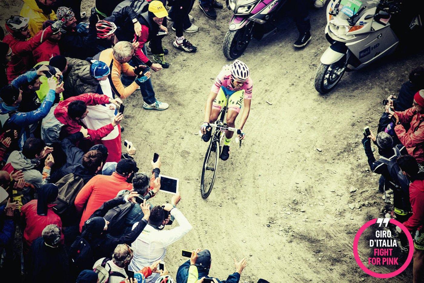 Comienza el Giro de Italia,la emoción se viste de rosa