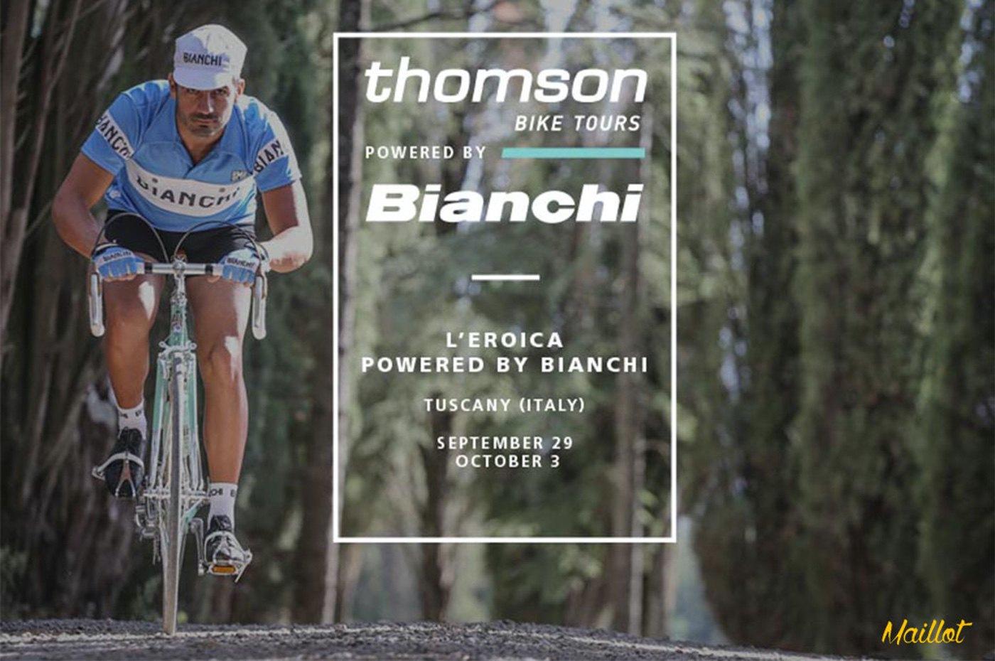 L´Eroica, Bianchi organiza a través de Thomson Bike Tours un viaje cicloturista vintage