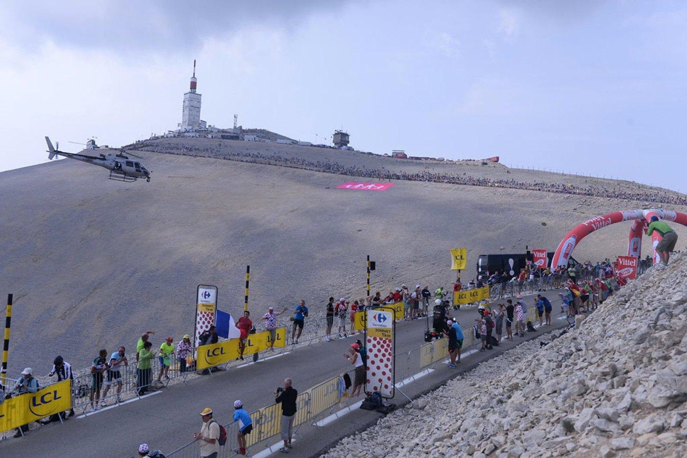 La mítica ascensión al Mont Ventoux del Tour de Francia ve modificado su recorrido por las predicciones meteorológicas