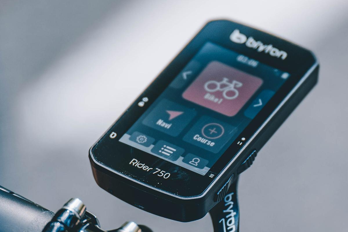 Nuevo GPS Bryton Rider 750, con búsqueda por voz