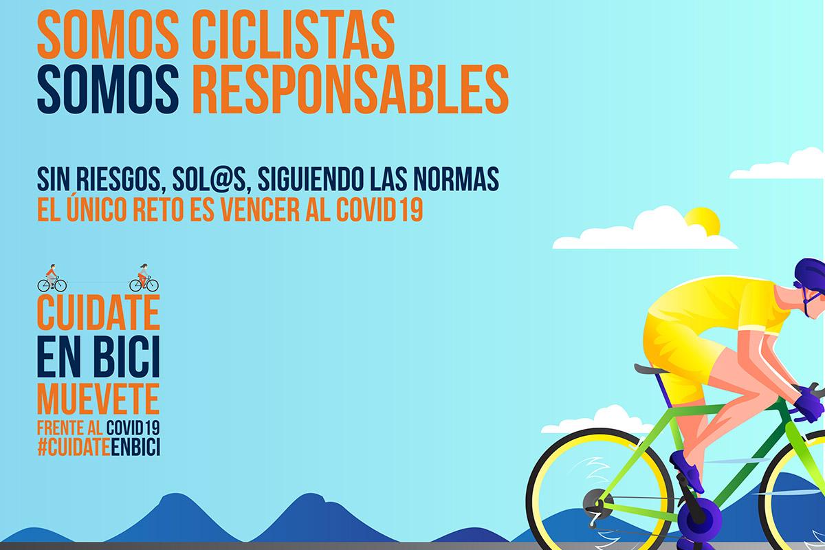 Campaña de AMBA #Somos Ciclistas #Somos Rresponsables