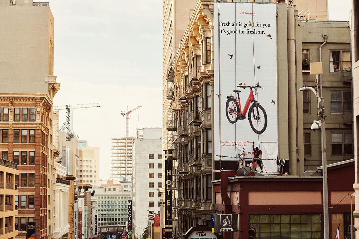 Campaña de la Cannondale Aventure Neo en San Francisco