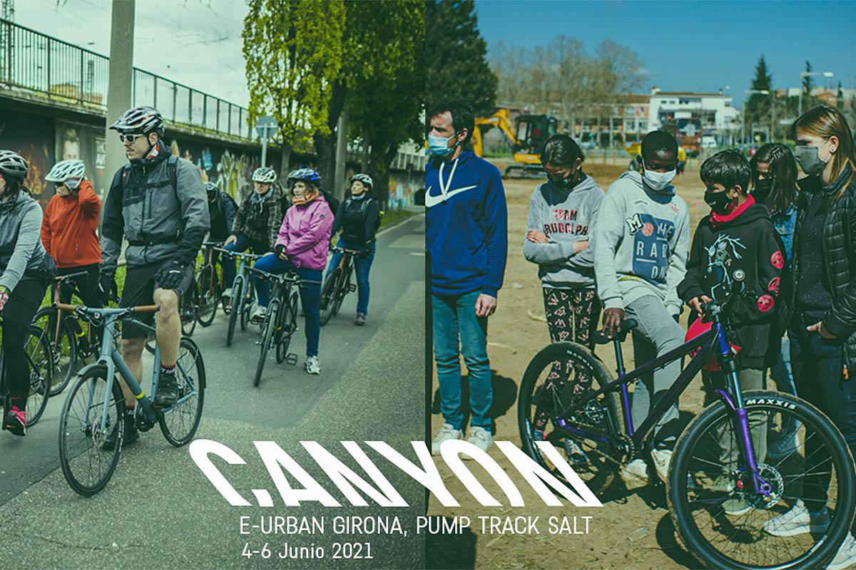 ¿Quieres probar una e-bike urbana de Canyon? Del 4 al 6 de junio podrás hacerlo en Salt, Girona