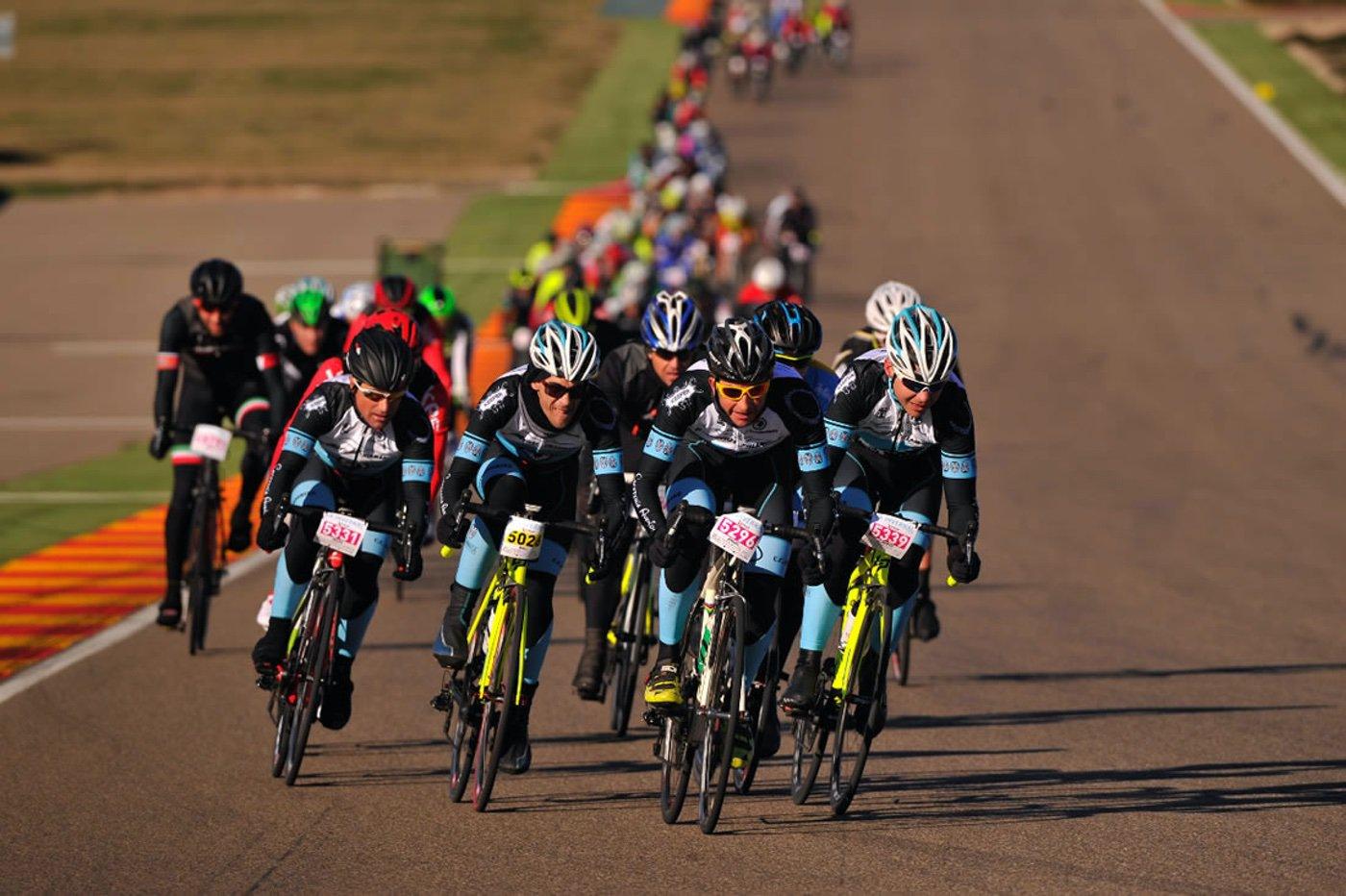 Ciclismo en Motorland Aragon