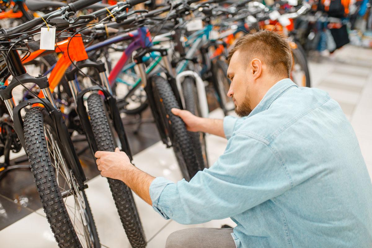 Comrpando una bicicleta