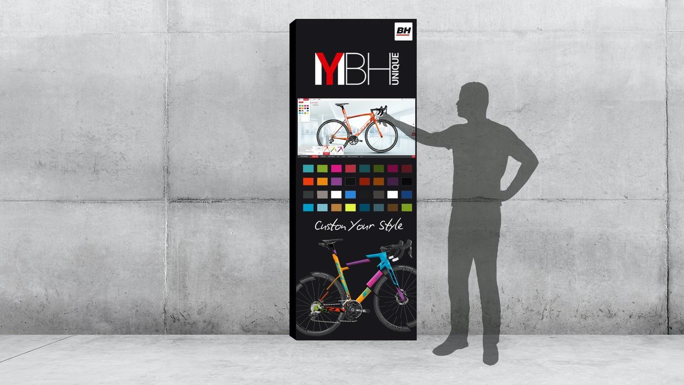 corner my bh unique personalizacion de bicicletas