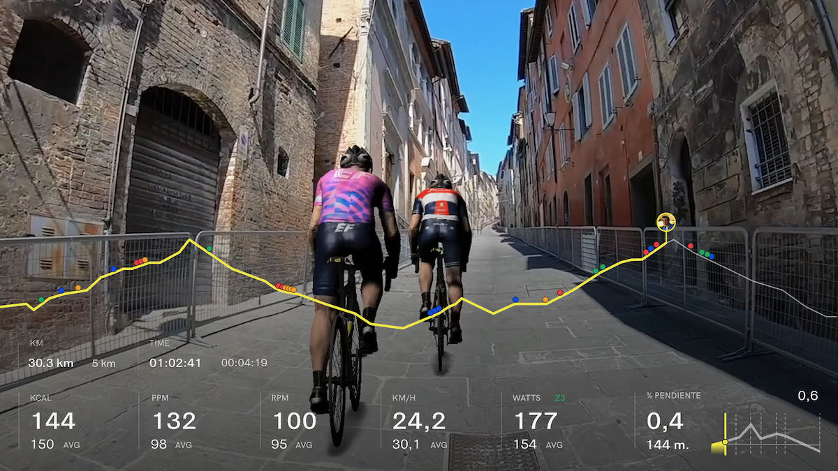 Disputa el Giro de Italia Virtual con BKOOL