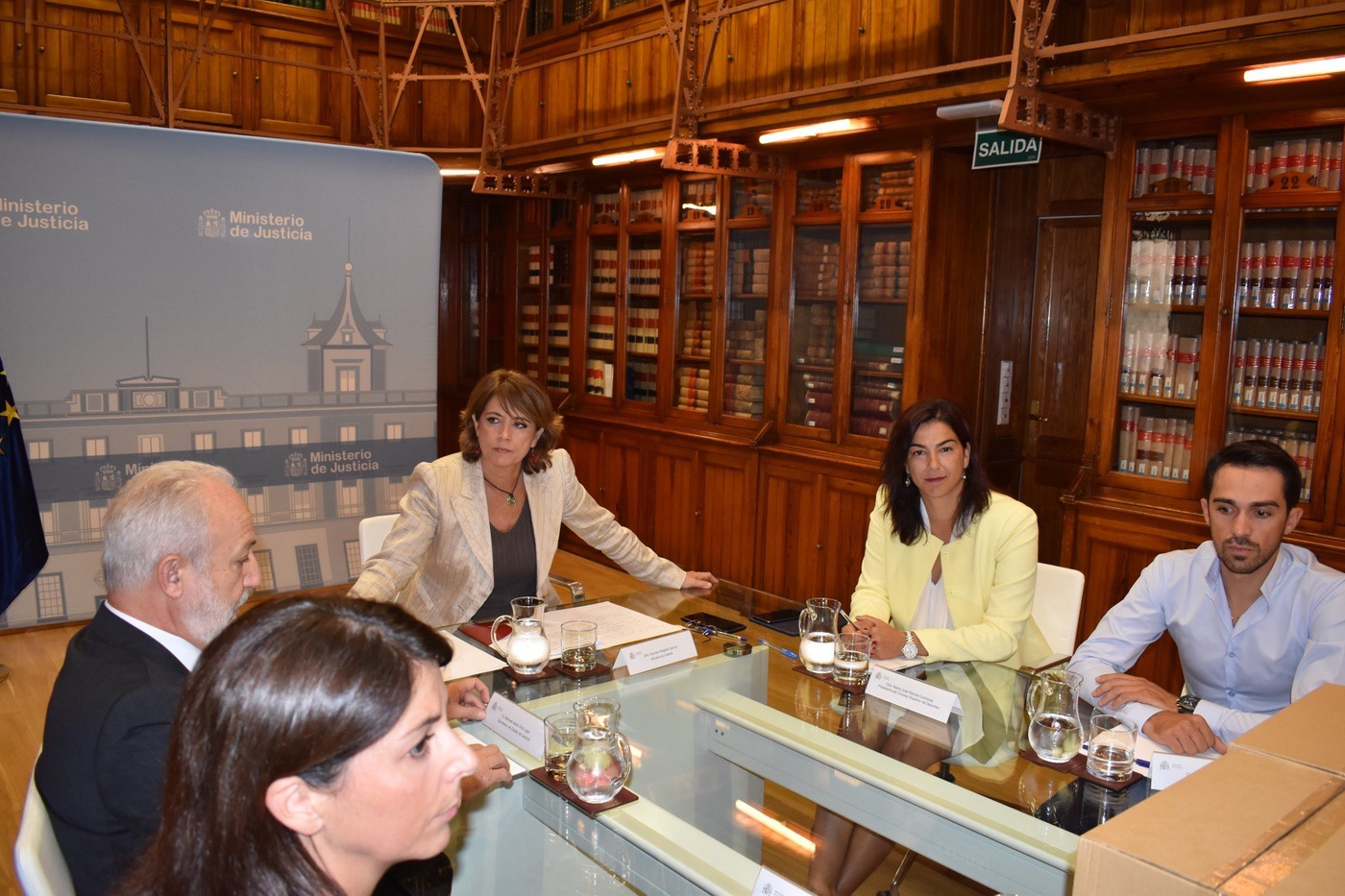 Principales conclusiones de la reunión entre #PorUnaLeyJusta y la Ministra de Justicia