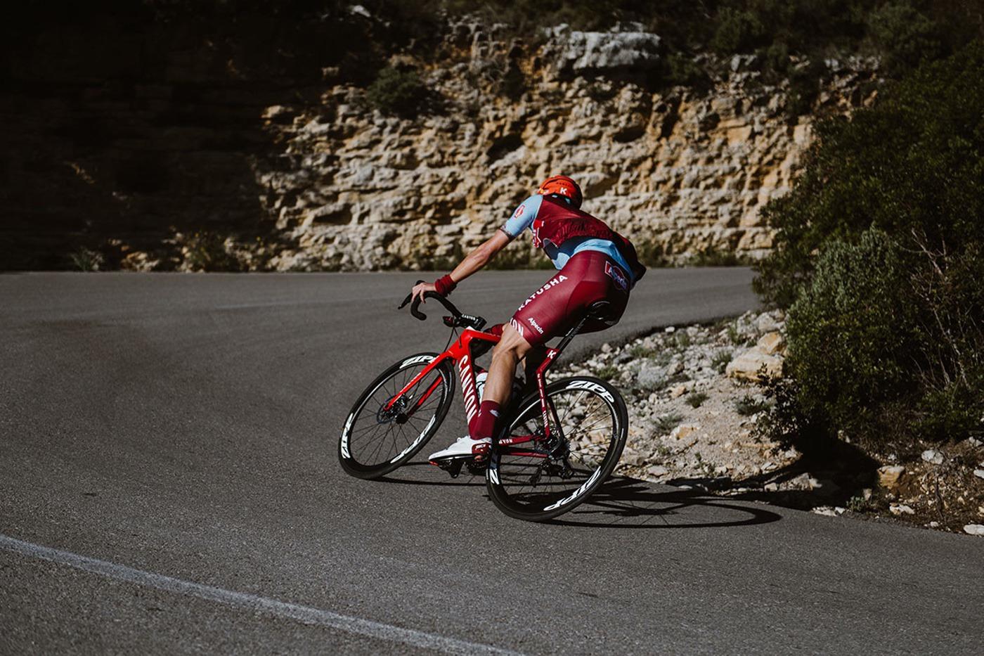 El Katusha Alpecin usará frenos de disco en sus Canyon en 2019