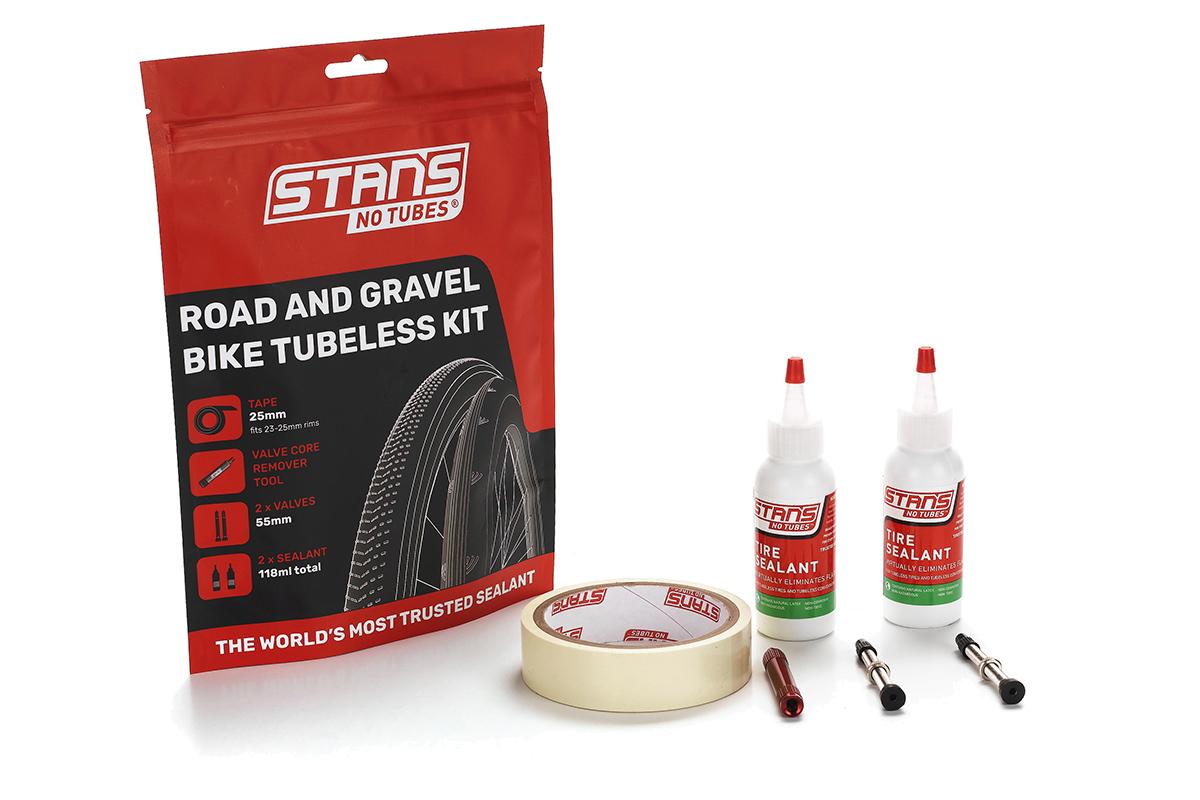 Nuevo kit Stan's No Tubes para tubelizar ruedas de carretera y gravel