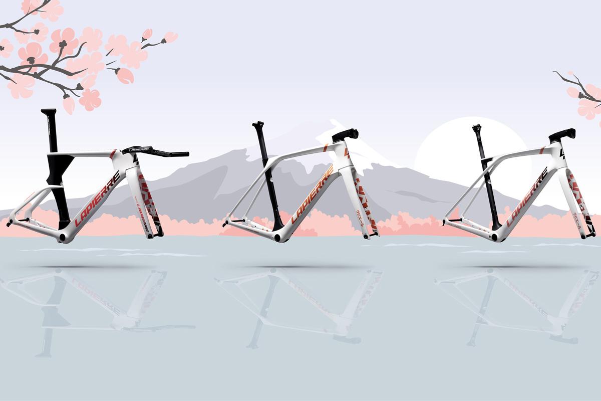 Colección Sakura de Lapierre para los JJOO de Tokio. Hazte con una de ellas