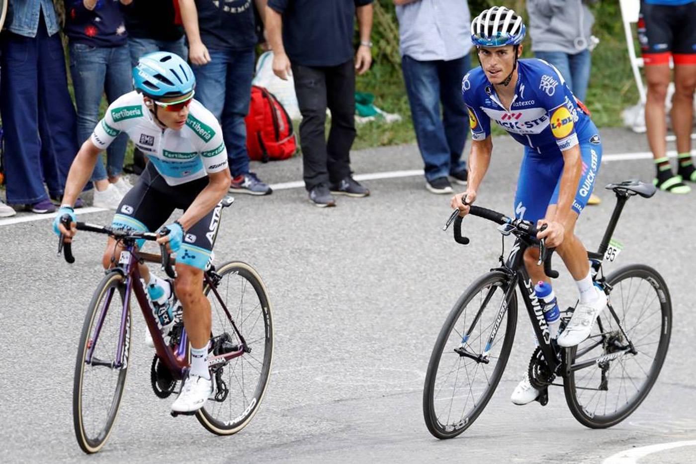 Maillot blanco de La Vuelta para el mejor joven