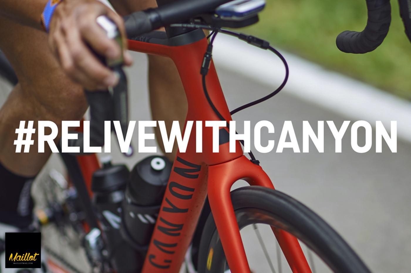 Gana una bici Canyon Endurace CF SLX #RelivewithCanyon
