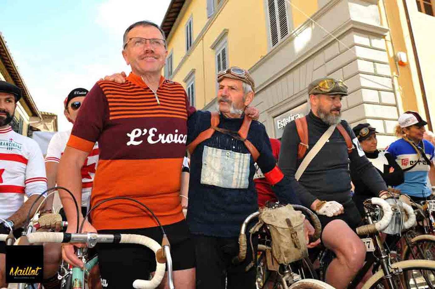Bianchi celebra el aniversario de L'eroica