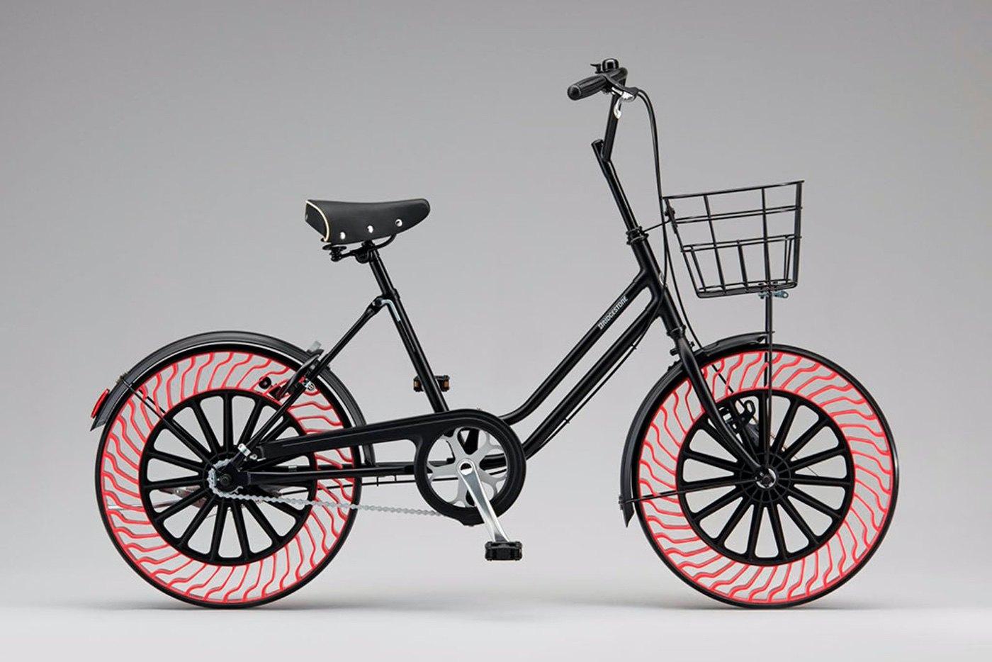 Neumáticos Air Free de Bridgestone, cuando la tecnología y el diseño salen a montar en bici