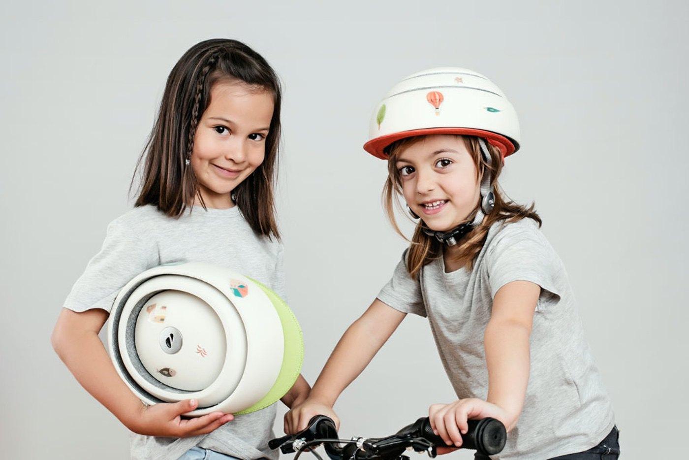 Closca Kids: el casco inteligente para los ciclistas urbanos del futuro