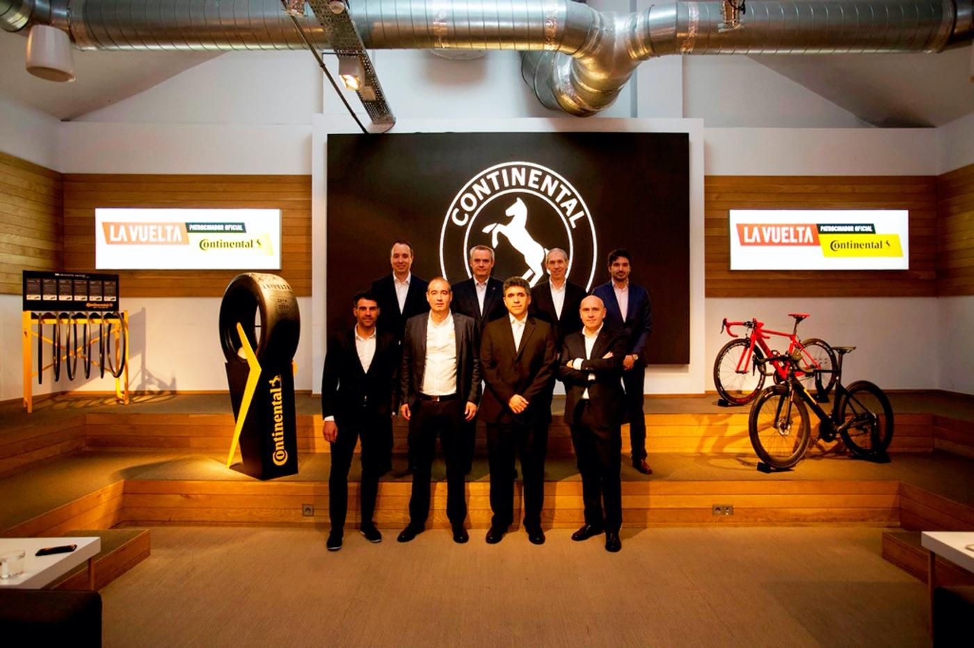 Continental patrocinador oficial de La Vuelta en su compromiso con la seguridad vial