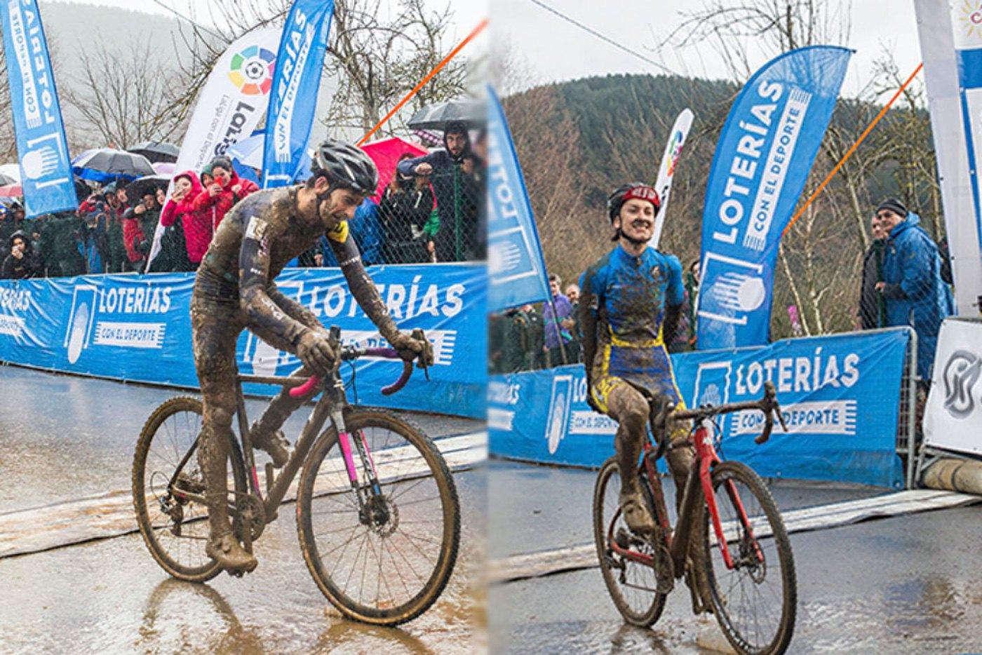 Ismael Esteban y Aída Nuño revalidan títulos en el Campeonato de España de ciclocross