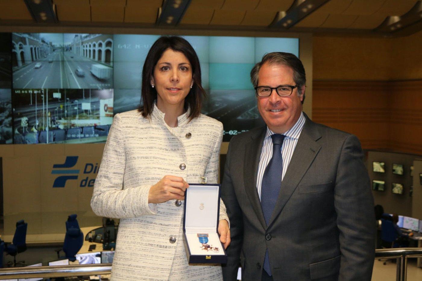 Medalla al Mérito a la Seguridad Vial para Anna González
