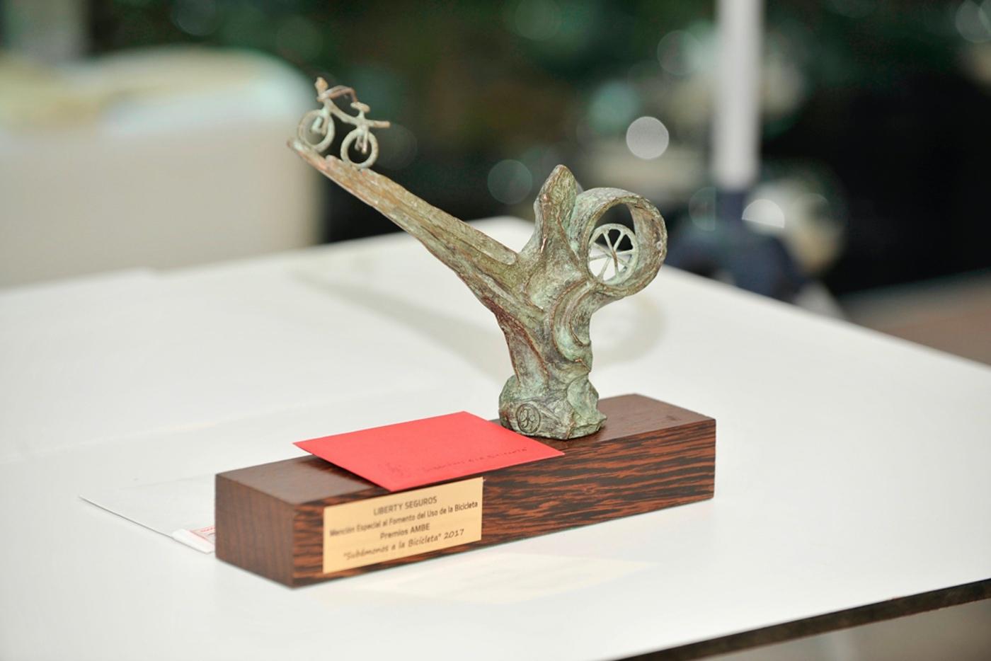 """Los Premios """"Subamonos a la Bicicleta"""" de AMBE celebran su segunda edición"""
